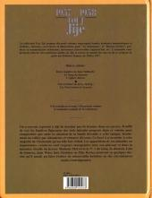 Verso de Tout Jijé -6- 1957-1958