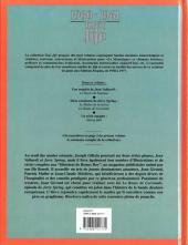 Verso de Tout Jijé -8- 1960-1961
