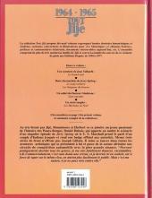 Verso de Tout Jijé -11- 1964-1965