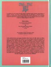 Verso de Tout Jijé -12- 1965-1967