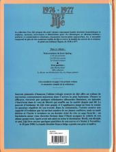 Verso de Tout Jijé -13- 1974-1977