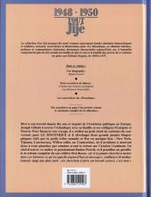 Verso de Tout Jijé -14- 1948-1950