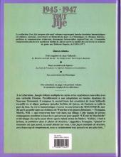 Verso de Tout Jijé -15- 1945-1947