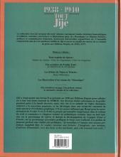 Verso de Tout Jijé -16- 1938-1940