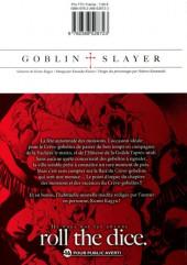Verso de Goblin Slayer -7- Tome 7