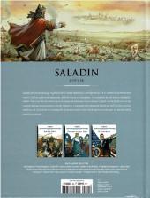 Verso de Les grands personnages de l'histoire en bandes dessinées -24- Saladin