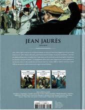 Verso de Les grands personnages de l'histoire en bandes dessinées -23- Jean Jaurès