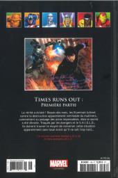 Verso de Marvel Comics - La collection (Hachette) -146106- Times Runs Out - Première Partie