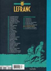 Verso de Lefranc - La Collection (Hachette) -VII- La chute du reich