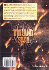 Verso de Vinland Saga -22- Tome 22