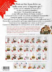 Verso de Le guide -13a2003- Le guide du Beau-frère et de la Belle-sœur