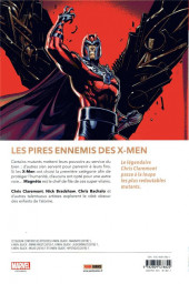 Verso de X-Men Black - Les vilains mutants