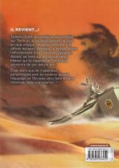 Verso de Capitaine Albator - Dimension voyage -9- Tome 9