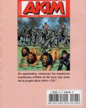 Verso de Capt'ain Swing! (2e série - Mon Journal) -REC96- Album N° 96 (du n° 288 au n°290)