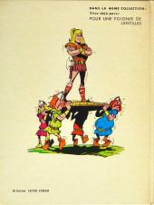 Verso de Histoires du temps jadis en bandes dessinées -2- Ce vase de Soissons ! Qui l'a cassé ??