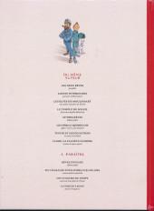 Verso de Tintin - Pastiches, parodies & pirates - Le Secret des Egoutiers