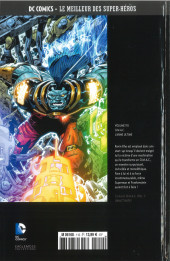 Verso de DC Comics - Le Meilleur des Super-Héros -110- O.M.A.C. - L'Arme Ultime