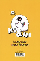 Verso de Ki & Hi -5- Tome 5