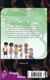 Verso de La destinée de Yuki -3- Tome 3