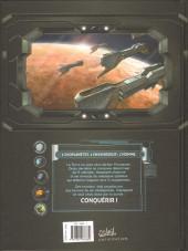 Verso de Conquêtes -4- Uranie