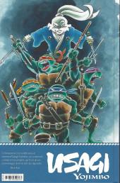 Verso de Usagi Yojimbo -HS3- Usagi Yojimbo et les tortues ninja