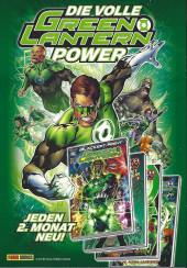 Verso de Free Comic Book Day 2011 (Allemagne) - Green lantern secret origin