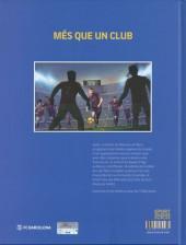 Verso de FCB - Football Club Barcelone -1- La Masia, l'école des rêves 1/3