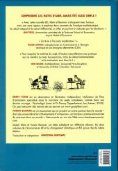 Verso de Les mathématiques en BD - L'analyse