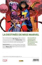 Verso de Magnificent Ms. Marvel -1- La fabuleuse Miss Marvel