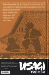 Verso de Usagi Yojimbo (en couleur) -2- Livre second : Samouraï