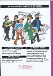 Verso de Tintin - Pastiches, parodies & pirates -40PIR2- Tintin et le Thermozéro