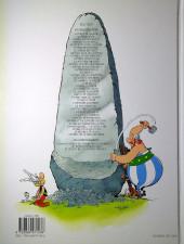 Verso de Astérix -31a2019- Astérix et la traviata