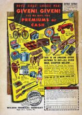 Verso de Strange Stories of Suspense (Marvel - 1955) -13- Tachzillo the Terrible