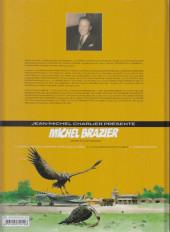 Verso de Michel Brazier -3- La Poursuite Impitoyable
