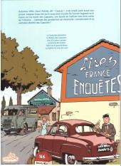 Verso de Jacques Gipar (Une aventure de) -2a2018- Le retour des capucins