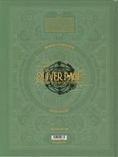 Verso de Oliver Page & les tueurs de temps -1- Tome 1