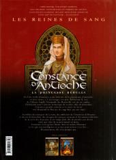 Verso de Les reines de sang - Constance d'Antioche, la Princesse rebelle -2- Volume 2