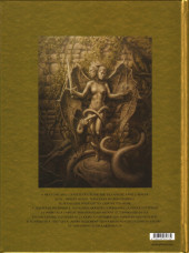 Verso de Les chevaliers d'Héliopolis -4- Citrinitas, l'œuvre au jaune