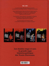Verso de Les années rouge & noir -4- 1968-1974 Simone