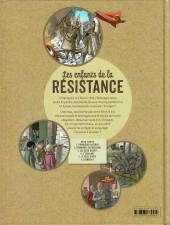 Verso de Les enfants de la Résistance -6- Désobéir !