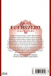Verso de Edens Zero -7- Aller de l'avant