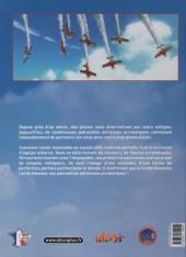 Verso de Patrouilles aériennes acrobatiques -INT- Intégrale