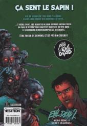 Verso de Evil Dead 2 - La Série -HS- Merry Deadmas