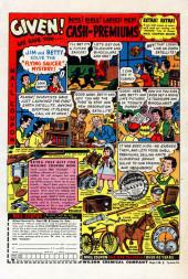 Verso de A Date with Millie Vol.1 (Marvel - 1956) -5- (sans titre)