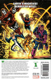 Verso de Avengers West Coast Epic Collection (2018) -INT01- How the west was won