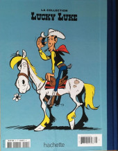 Verso de Lucky Luke - La collection (Hachette 2018) -2537- Canyon apache