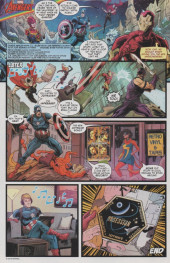 Verso de Savage Avengers (2019) -4- Stress Test