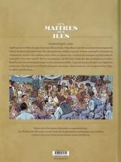Verso de Les maîtres des îles -2- Martinique 1847
