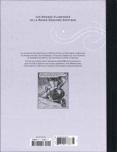Verso de Les grands Classiques de la Bande Dessinée érotique - La Collection -9594- Gwendoline - Tome 2