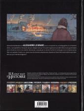 Verso de Ils ont fait l'Histoire -27FL- Alexandre le Grand